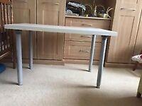 Ikea desk / table with adjustable height legs