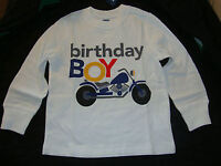 Birthday Shirts and Size 3 Sneakers