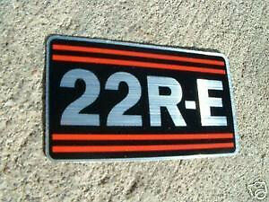 NEW OEM Toyota Truck 22RE Valve Sticker decal Valve Cover Sticker