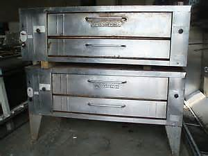 PIZZA OVENS - BAKERS PRIDE Y600 DOUBLE STACKED - Free shipping