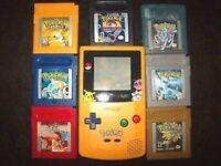 Pokemon GameBoy Games (only 3/7 left!!!)