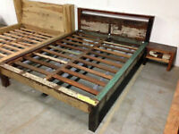 •	WOODEN BEDS, NIGHT TABLES - WAREHOUSE CLEARANCE END OF STOCK