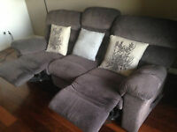 Mint condition Recliner couch