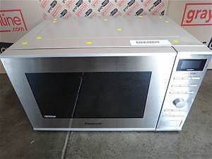 STAINLESS STEEL PANASONIC MICROWAVE $99 ONLY!!!