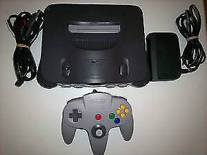 *****CONSOLE NINTENDO 64 A VENDRE / NINTENDO 64 N64 SYSTEM FOR SALE*****