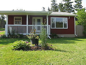 Cottages for rent on PEI  INN THE WOODS