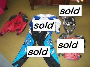 Motocross and Street gear asking $40 each OBO