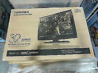 "BRAND NEW Toshiba 32DT2U 32"" 720p LCD TV - 16:9 - HDTV AT $270!!"