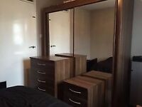 *** REDUCED £500**** Used Bedroom furniture set; ottoman bed, sliding wardrobe and more, rrp £1800