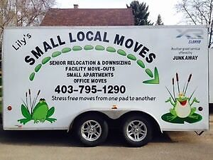 Lily's Small Local Moves and Relocation Services