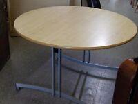 20% OFF ALL ITEMS SALE - Tilt Top / Foldaway Office Desk / Meeting Room Table - VGC