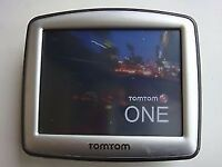 TOMTOM ONE FULLY WORKING WITH HOLDER AND USB