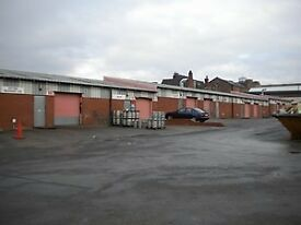 Garage Workshop to let - short term rent, approx 750 sq ft