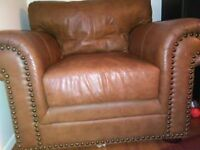 Leather Chair/ Very Comfortable.