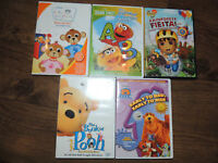 Kids DVD's for sale