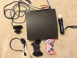 PLAYSTATION 3+ACCESSORIES AND GAMES