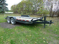 Utility-car, Flat Bed Trailer