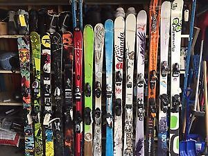 Adult Skis Mens/Ladies 143cm - 186cm - Prices Vary