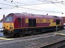E.W.S Class 67 Line Of Route Maintenance Manual