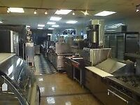 big sale on commercial restaurant equipment (Van.)