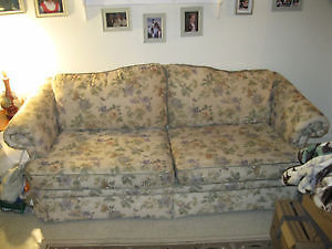 PRICE DROP Nice couch in great shape no pets or smoking .