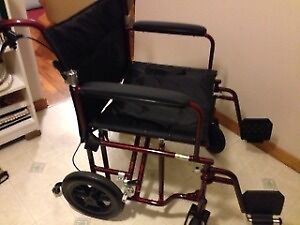 """22"""" Bariatric Aluminum Transport Chair by Drive REDUCED"""