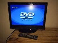 19ich tv with ipod docking station and dvd(cud deliver)