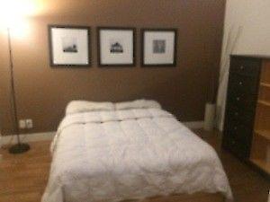 chambre dans un magnifique loft meublé