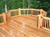 Fence & deck staining & sealing! 15 % off book today/free quote