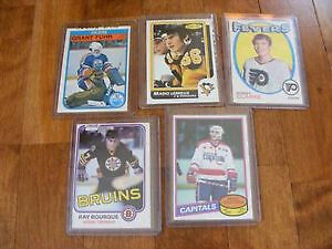 Lot de Cartes de hockey Vintage.