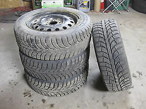 Winter Tires and Rims - Used for 1 season