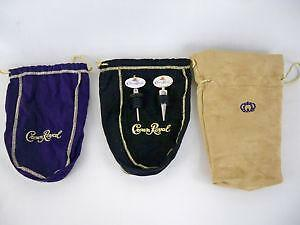 Crown Royal Bags Lot