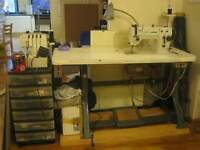 INDUSTRIAL SEWING MACHINE SEWER TO SEW CUSHIONS & UPHOLSTERY