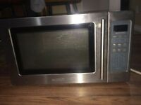 To swap/trade my 4/5 year old stainless steel microwave