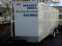 U load we haul: Massey Bros. Moving Services