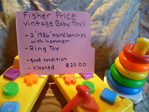 Fisher Price Vintage Baby Toys