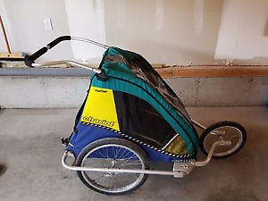 Chariot Chauffeur CTS double jogging stroller