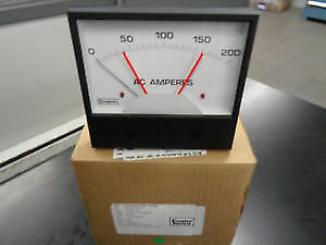 239-302A RANGE 0-5AAC SCALE 0-200AAC METER RELAY