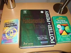 NEW CONDITION PRACTICAL NURSING BOOKS 3 ESSENTIAL BOOKS ONLY 200