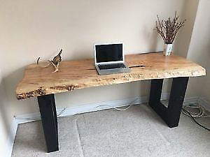 Live Edge and Reclaimed Wood Tables and Desks  Christmas Sale