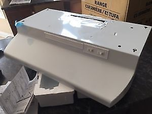 Brand New: White AirKing Kitchen Fan Hood With Light