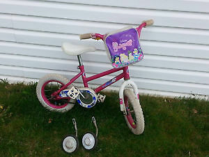 "Girl's Bike with 12"" Tires for Sale!"