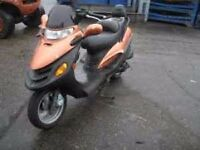 kymco spacey 125 complete bike broken for spares