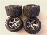 RC 12mm hex tires and rims