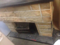 fireplace electric 80's $60.00  Cell 306-227-8767  West side Ma