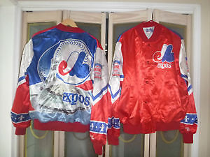 Official MONTREAL EXPOS Jacket - Brand New