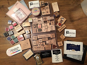 Stamps, inks and idea books