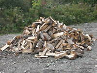 "FIREWOOD FOR SALE ""DRY HARDWOOD"" 1 1/2 YEAR OLD"