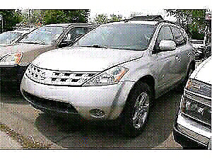 Nissan murano  2003 part out