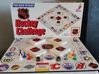 1986 NHL Hockey Challenge Board Game